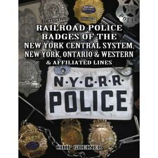 RAILROAD POLICE BADGES: New York Central System/New York, Ontario & Western NEW