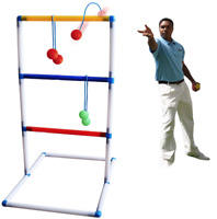 Freshday Ladder Toss Ball Game Set One PC For Adults & Kids Backyard Beach Lawn