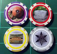 HeroClix - Standard Objects -  4 Piece Set