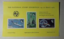 Natl Stamp Exhibition Itu Air Mail 1965 Philatelic Souvenir Ad Label