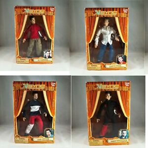 NSync - 2000 No Strings Attached - 4 Commemorative Marionettes w/ Stands & Boxes