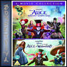 ALICE IN WONDERLAND &ALICE THROUGH THE LOOKING GLASS COLLECTION *BRAND NEW DVD**