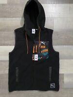 PUMA X HELLY HANSEN Hooded Full-Zip Designer Vest 597082-01 NWT! Men's Size M