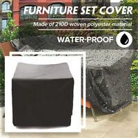 Waterproof Furniture Ultraviolet-proof Sofa Cube Table Garden Patio Protector