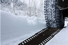 2 Auto Car Foldable Tire Grip Tracks - Ideal for Snow, Ice, Mud and Sand