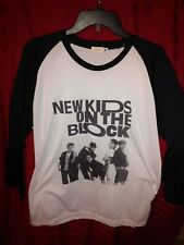 Womans New Kids on the Block White X Large Shirt Mudmee