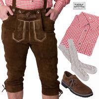 TRACHTENKRACHER! UVP 189,60€! Lederhose, Trachtenhemd, Haferlschuhe, Socken!