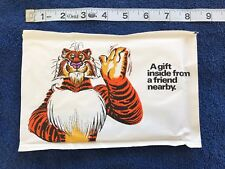 Vintage Exxon Esso Tiger Gift Of The Month Picture Frame MIP