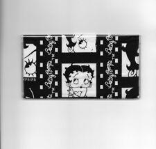 BETTY BOOP CHECKBOOK COVER  FABRIC BLACK AND WHITE FILM