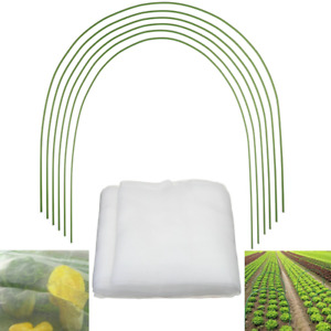 Greenhouse Hoops Plant Grow Tunnel Garden Support Frame/Plant Protective Net