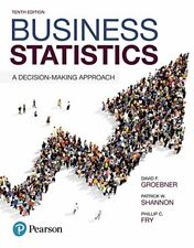 Business Statistics: A Decision-Making Approach (10th Edition) by Groebner Da…