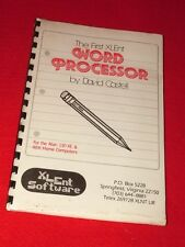 Vintage Word Processor Software for Atari Computers Unused and Sealed