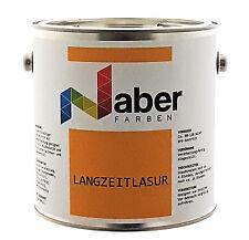 (3,99 €/L) 2,5 Liter Holzschutz - Langzeitlasur - T E A K - Seidenglanz