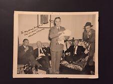 """CHARLES F. HORNER ORIGINAL PHOTO PERCY HAMILTON """"TEX"""" HEBERT TEXARKANA"""