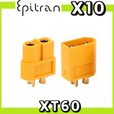 5x Connettore EC5 Maschio Lipo Batteria Plug Drone Modellismo RC Batterie banana