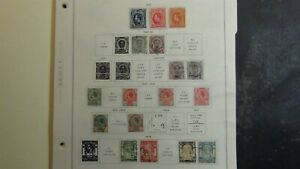 Thailand stamp collection on Scott pages to '89 w/#325 or so stamps