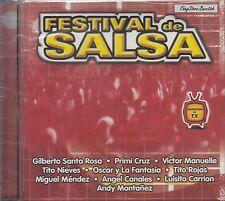 Cano Estremera Victor Manuelle Tito Rojas Festival De Salsa CD New Nuevo Sealed