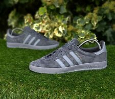 ❤ BNWB & Authentic Adidas Originals ® Broomfield Grey Suede Trainers UK Size 11