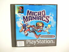 MICRO MANIACS complete in box with manual PAL PS1 Sony Playstation 1