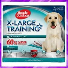 TRAINING PUPPY PADS Dog Pee Pad Extra Large 6 Layer 28 x 30 Inch SIMPLE SOLUTION