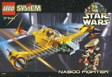 LEGO STAR WARS NABOO STARFIGHTER 7141 FROM 1999 100% COMPLETE GUARANTEE 1ST EDN