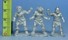Miniatures Workshop - MB-004s 3 x Unarmed Half Ogres - Pre Slotta