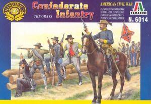 Italeri 1/72 Confederate Infantry - American Civil War # 6014