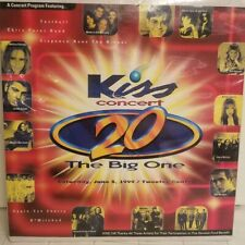 Boston Kiss Concert 20 June 1999 Mint ~ Elton John Rod Stewart N'Sync 98 degrees