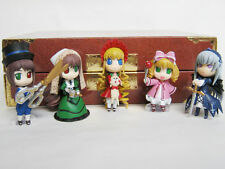 ROZEN MAIDEN FIGURE COLLECTION 5 DOLLS SET SHINKU SUIGINTOU CHARAANI JAPAN USED