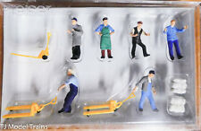 Preiser HO #10255 Delivery Men w/Accessories (Painted) Plastic Parts