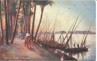 Raphael Tuck & Sons Oilette Postcard Banks Of The Nile Near Cairo Egypt P4031