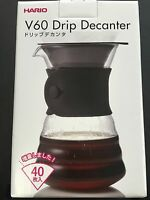 Hario VDD-02B V60 Drip Decanter 700mL with 40 Drip Paper from JAPAN
