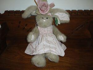 Bearington CASANDRA Bunny Rabbit Nr 4131 Floral Summer Dress 16 inch NEW