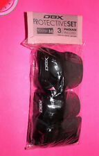 New Dbx Protective Set 3 Piece M Youth Elbow / Kneed Pads / Wrist Guards