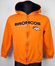DENVER BRONCOS Boys Large Youth Hoodie NFL Jumper KIDS Sweatshirt Jersey Vtg top