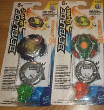 LOT OF 2 HASBRO BEYBLADE BURST Y1 SINGLE TOP PACKS YEGDRION HORUSOOD