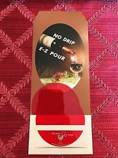 No Drip E-Z Pour Wine Pourer, sealed two pack, instructions included. U.S. made