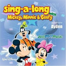 Sing Along With Mickey Minnie And Goofy: Ayden Eye-Den Very Good Audio CD