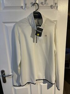 Calvin Klein Golf Mens Quarter Zip Pullover Bnwt Xxl