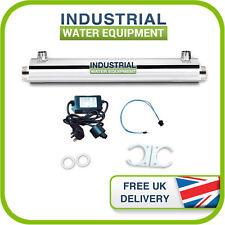 16w UV UltraViolet Water Treatment System Filter Steriliser 7.5l/pm