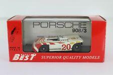 DIE CAST 1/43 BEST MODEL PORSCHE 908/3 TARGA FLORIO 1970 9050