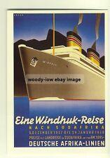 ad2099 - Deutsche Afrika Line - modern poster advert postcard