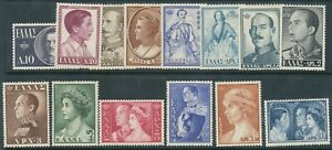 1956 ROYAL FAMILY SET MINT HINGED FRESH LOOKING BIN PRICE GB£20.00