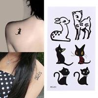 Animal Removable Wasserdicht Temporäre Tätowierung Körper Tattoos Aufkleber X
