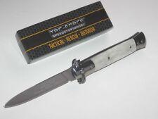 TAC-force Speedster Milano Stiletto assisted opening perlmut óptica nuevo/en el embalaje original