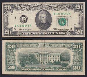 United States 20 dollars 1969 Richmond BB/VF  C-D1