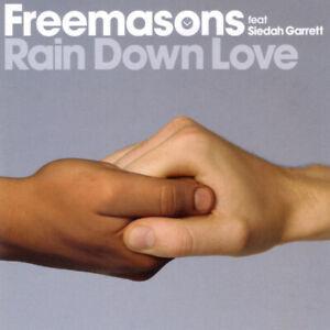 FREEMASONS FEAT SIEDAH GARRETT RAIN DOWN LOVE  CD  M47