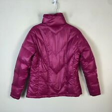 Columbia Down Jacket Women's L Pink Quilted Puffer Winter Coat