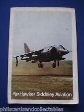 Hawker Siddeley Aviation and Dynamics fold-out sales brochure  c1975