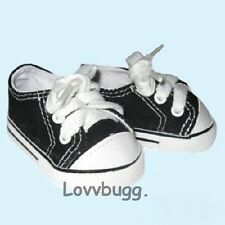 Black Tennis Sneakers Wh Ts for 18 inch Doll Shoes American Girl Widest Variety